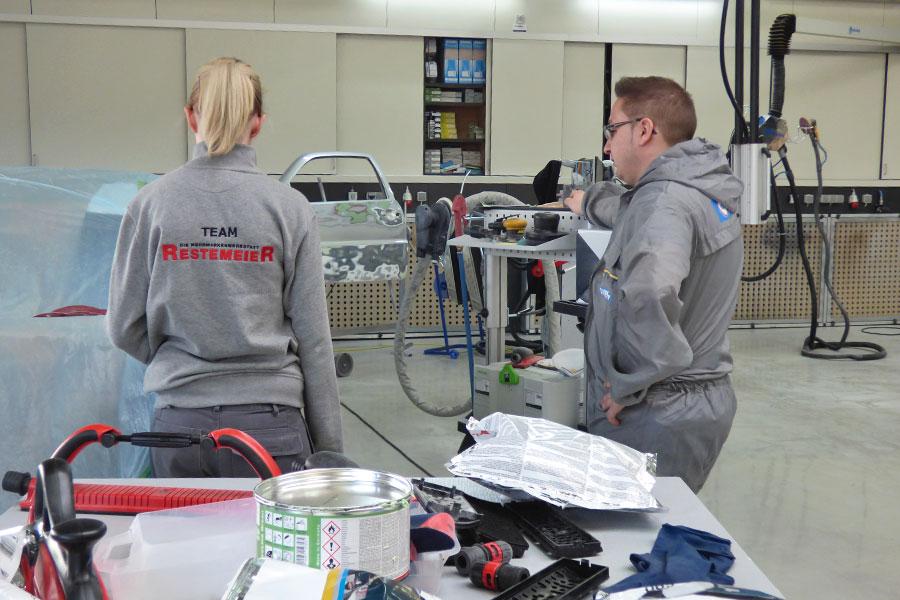 Individualschulung der Firma Restemeier GmbH April 2016