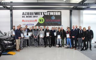 Azubi-Wettbewerb vom 03.03.2017 | Team Restemeier vs. Team Koopmann