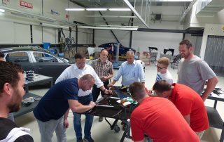 Lackzentrum Stindt Carsystem Produktschulung ProFlex Finish und UV-Innovation