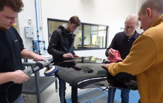 Impressionen zur Scholl Concepts Finish Schulung am 25.02.2019